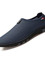 cheap -Men's Mesh Summer Comfort Loafers & Slip-Ons Black / Gray / Blue