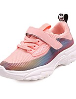 cheap -Girls' Shoes Mesh Spring & Summer Comfort Sneakers Basketball Shoes Hook & Loop for Teenager White / Black / Pink