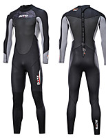 cheap -Men's Full Wetsuit 3mm SCR Neoprene Diving Suit Anatomic Design, Stretchy Long Sleeve