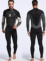cheap -MYLEDI Men's Full Wetsuit 3mm Diving Suit Quick Dry, Stretchy Long Sleeve Autumn / Fall / Spring / Summer