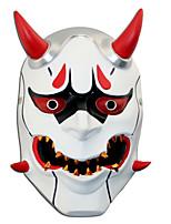 abordables -Máscara Inspirado por overwatch Cosplay Animé Accesorios de Cosplay Máscara Resina