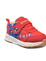 cheap -Girls' Shoes Mesh / PU(Polyurethane) Spring & Summer Comfort Athletic Shoes Walking Shoes for Toddler Red / Blue / Pink