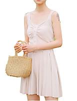 abordables -Mujer Conjunto - Un Color Falda
