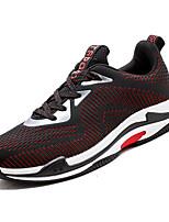 cheap -Men's Mesh Summer Comfort Sneakers Color Block Black / Gray / Black / Red