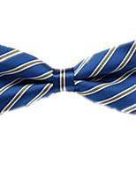 baratos -Unisexo Básico Gravata Borboleta - Laço Listrado / Estampado / Estampa Colorida