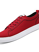cheap -Men's Canvas Spring Comfort Sneakers Black / Gray / Red
