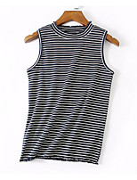 cheap -Women's Street chic T-shirt - Striped