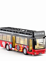 cheap -Toy Car Bus Double-decker Bus New Design Metal Alloy Child's Teenager All Boys' Girls' Toy Gift 1 pcs