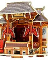 economico -Modellini di legno / Giocattoli di logica e puzzle Edificio famoso Scuola / Livello professionale / Stress e ansia di soccorso di legno 1 pcs Per bambini / Teen Tutti Regalo