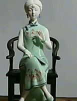 Недорогие -1шт Керамика / Дерево Европейский стиль для Украшение дома, Домашние украшения Дары