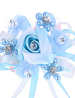 cheap -Wedding Flowers Wrist Corsages Party Evening / Wedding Party Polyester 0-10 cm