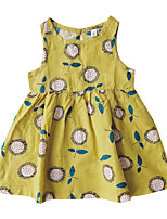 cheap -Toddler Girls' Daisy Floral Sleeveless Dress
