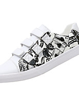 cheap -Men's PU(Polyurethane) Fall Comfort Sneakers White / Black / Red