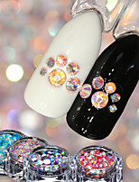 cheap -4 pcs Nail Jewelry Luminous nail art Manicure Pedicure Wedding / Party Evening / Dailywear Metallic / Sparkle & Shine