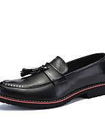 cheap -Men's Faux Leather / PU(Polyurethane) Summer Comfort Loafers & Slip-Ons Black / Black / Red / Black / Yellow / Party & Evening