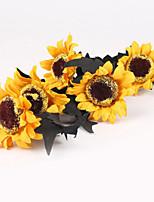 Недорогие -Искусственные Цветы 1 Филиал Классический Модерн / Простой стиль Подсолнухи Букеты на стол