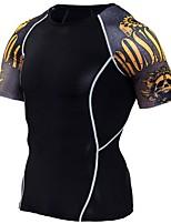 preiswerte -Herrn T-Shirt für Wanderer Außen Leicht, Rasche Trocknung, Atmungsaktivität Elasthan T-shirt N / A Outdoor Übungen / Camping / Wandern / Erkundungen / Fitness