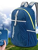 Недорогие -22 L Рюкзаки / Заплечный рюкзак - Легкость, Дожденепроницаемый, Быстровысыхающий На открытом воздухе Пешеходный туризм Нейлон Зеленый, Синий, Темно-синий