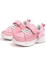 Недорогие -Девочки Обувь Полиуретан Весна лето Удобная обувь Спортивная обувь Для прогулок для Дети Белый / Черный / Розовый