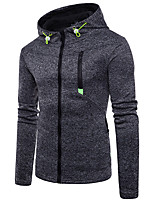 cheap -Men's Basic / Military Hoodie - Solid Colored