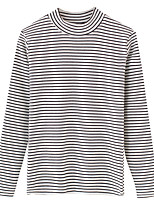cheap -women's going out long sleeve pullover - striped crew neck
