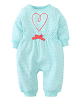 cheap -Baby Girls' Solid Colored Long Sleeve Overall & Jumpsuit