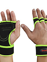 cheap -Weight Lifting Gloves With 2 pcs Microfiber Built-In Wrist Wraps, Adjustable Full Palm Protection & Extra Grip, Wearproof For Exercise & Fitness / Gym / Workout Wrist Men's / Women's