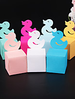 cheap -Cuboid Pearl Paper Favor Holder with Pattern / Print Gift Boxes - 50 Pieces