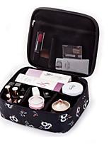 cheap -PU Leather Rectangle Geometric Pattern Home Organization, 1pc Makeups Storage
