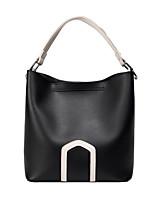 cheap -Women's Bags PU(Polyurethane) Shoulder Bag Solid Geometric Green / Black / Beige