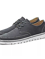 cheap -Men's Combat Boots PU(Polyurethane) Fall Sneakers Black / Gray / Khaki