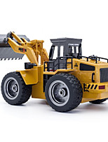 cheap -RC Car 520 6CH 2.4G Bulldozer 1:64 10 km/h KM/H