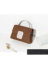 cheap -Women's Bags PU(Polyurethane) Shoulder Bag Zipper Black / Beige / Camel