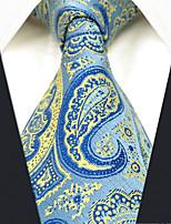 cheap -Men's Party / Work Necktie - Color Block / Paisley / Jacquard