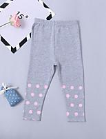 economico -Bambino / Bambino (1-4 anni) Da ragazza A pois Pantaloni