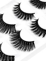 Недорогие -Глаза 1 pcs Натуральный / Кудрявый / Красота Повседневный макияж / Макияж на Хэллоуин / Макияж для вечеринки Толстые / Натуральная длина Макияж Профессиональный / Мода Многофункциональные / Pro