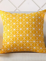 cheap -1 pcs Polyester Pillow Cover, Geometric Patterned / Modern Style