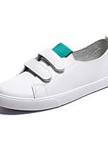 cheap -Women's Shoes PU(Polyurethane) Fall Comfort Sneakers Flat Heel Pink / White / Green