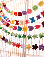 cheap -Wedding / Birthday Party Pure Paper Wedding Decorations Wedding / Birthday / Heart All Seasons