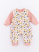 cheap -Baby Girls' Print Long Sleeve Overall & Jumpsuit