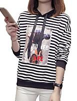 abordables -Tee-shirt Femme, Rayé Sortie