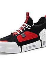 cheap -Men's Mesh / PU(Polyurethane) Fall & Winter Comfort Sneakers Color Block Red / Green / Khaki