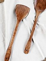 economico -Utensili da cucina Legno Strumenti / Grip comodo / Cucina creativa Gadget spatola Per utensili da cucina / Utensili innovativi da cucina 1pc
