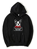 cheap -men's long sleeve hoodie - cartoon hooded