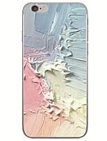 billiga -fodral Till Apple iPhone X / iPhone 8 Ultratunt / Mönster Skal Oljemålning Mjukt TPU för iPhone X / iPhone 8 Plus / iPhone 8