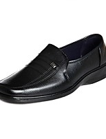 Недорогие -Муж. Полиуретан Осень Удобная обувь Мокасины и Свитер Черный