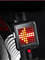 cheap -Rear Bike Light / Safety Light / Safety Reflectors LED LED Cycling Waterproof, Portable, Cool USB 80 lm USB Red Cycling / Bike