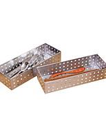 Недорогие -Кухонная организация Коробки для хранения Нержавеющая сталь Прост в применении 2pcs