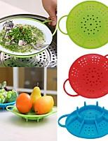 Недорогие -Кухонные принадлежности Силикон Сливной Пароварка Многофункциональный / Для приготовления пищи Посуда 1шт