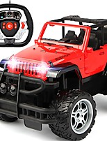 cheap -RC Car 686A-1 5CH 2.4G Car / Off Road Car 1:14 Brushless Electric 8 km/h KM/H